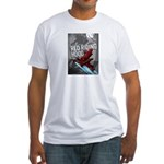 Sci Fi Red Riding Hood Fitted T-Shirt