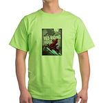 Sci Fi Red Riding Hood Green T-Shirt