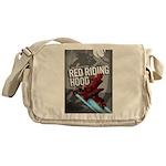 Sci Fi Red Riding Hood Messenger Bag