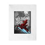 Sci Fi Red Riding Hood Twin Duvet