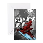Sci Fi Red Riding Hood Greeting Cards (Pk of 10)