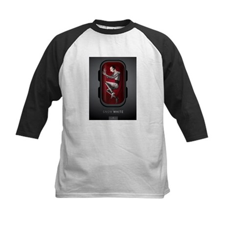 Sci Fi Snow White Kids Baseball Jersey
