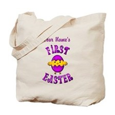 First Easter Personalized Tote Bag