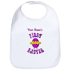 First Easter Personalized Bib