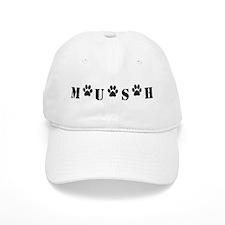 MUSH Logo (Black) Baseball Baseball Cap
