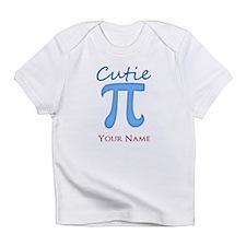 Cutie Pi - Cutey Pie - Personalized Infant T-Shirt