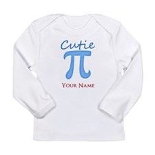 Cutie Pi - Cutey Pie - Personalized Long Sleeve T-
