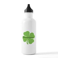 Shenanigans Clover Water Bottle