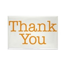 A simple thank you will do Rectangle Magnet
