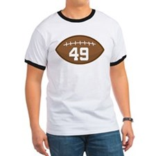 Football Player Number 49 T