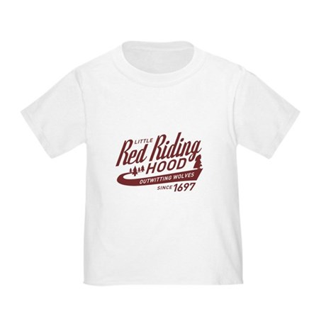 Little Red Riding Hood Since 1697 Toddler T-Shirt