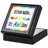 Unique Autistic Keepsake Box