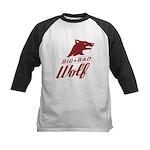 Big Bad Wolf Kids Baseball Jersey