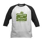 Princess & the Pea Since 1835 Kids Baseball Jersey