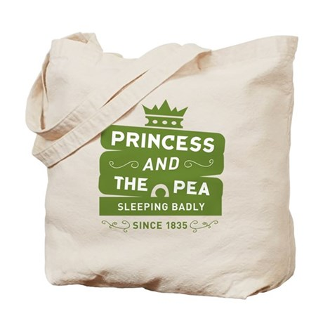 Princess & the Pea Since 1835 Tote Bag
