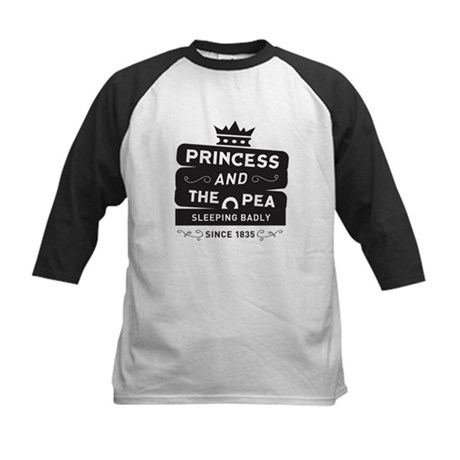 Princess & the Pea Since 1835 Kids Baseball Jersey