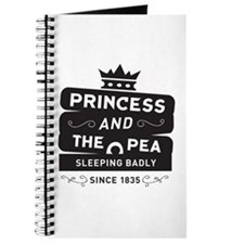 Princess & the Pea Since 1835 Journal
