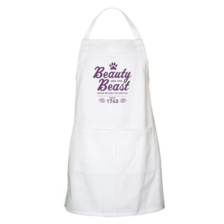 Beauty and the Beast Since 1740 Apron