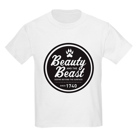 Beauty and the Beast Since 1740 Kids Light T-Shirt