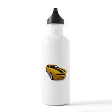 Yellowmusclecar Water Bottle