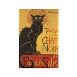 Chat Noir Rectangle Magnet