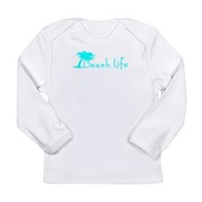 Beach Life (Turquoise) Long Sleeve T-Shirt