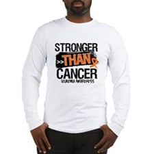 Stronger Than Leukemia Cancer Long Sleeve T-Shirt