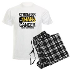 Stronger Than Childhood Cancer Pajamas