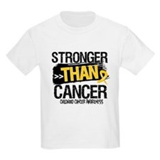 Stronger Than Childhood Cancer T-Shirt