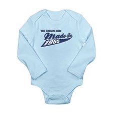 Made in 1965 Long Sleeve Infant Bodysuit