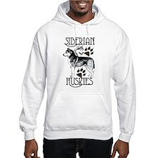Siberian Huskies Hoodie