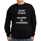 QUIET PLEASE (front) Sweatshirt
