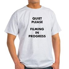 QUIET PLEASE (front) T-Shirt