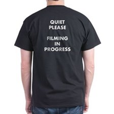 QUIET PLEASE (back) T-Shirt