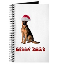 German Shepherd Christmas Journal