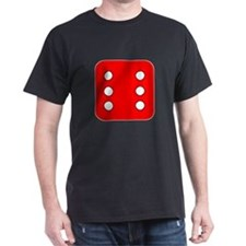 Red Dice Six T-Shirt