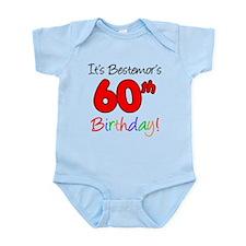 Bestemors 60th Birthday Body Suit