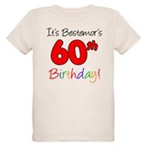 Bestemors 60th Birthday T-Shirt