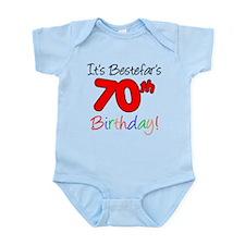 Bestefars 70th Birthday Body Suit