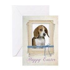 Beagle Easter Card