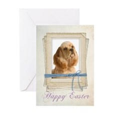 Cocker Spaniel Easter Card