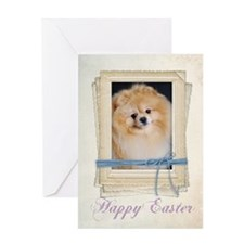 Pomerianian Easter Card