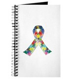 Autism Awareness Ribbon Journal
