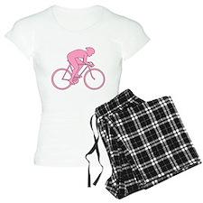 Cycling Design in Pink. Pajamas
