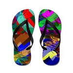 Flip Flops Color Photo Collage