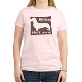 Doxie Warning T-Shirt