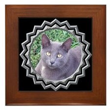 MoonShadow Black Framed Tile