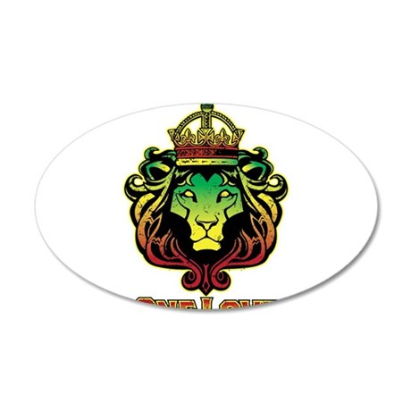 One Love Lion Wall Decal