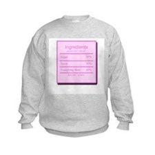 Little Girl Ingredients Sweatshirt
