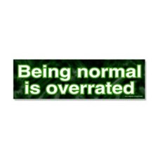 Being Normal (magnet)